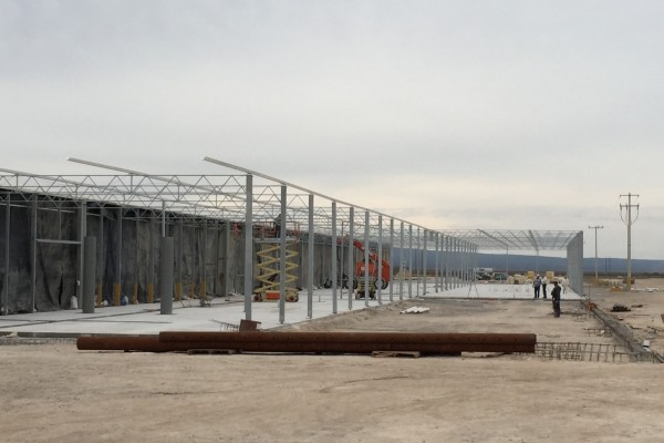 VB starts construction of third phase for Hydroponic Green Valley, Mexico